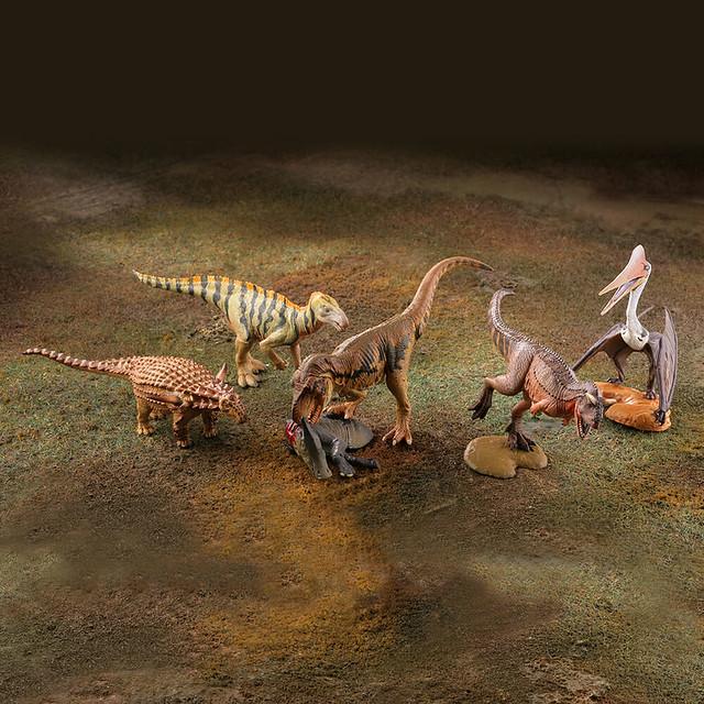海洋堂 精選系列『miniQ 』「恐龍造形最前線」 !miniQ 恐竜造形最前線