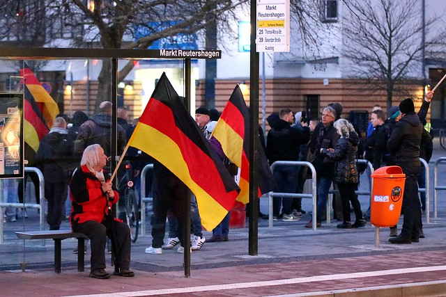 AfD-Demo Rostock