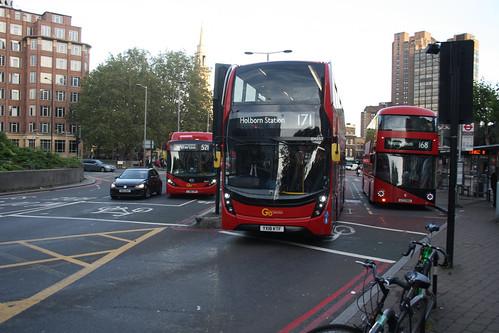 Go-Ahead London EH257 YX18KTF
