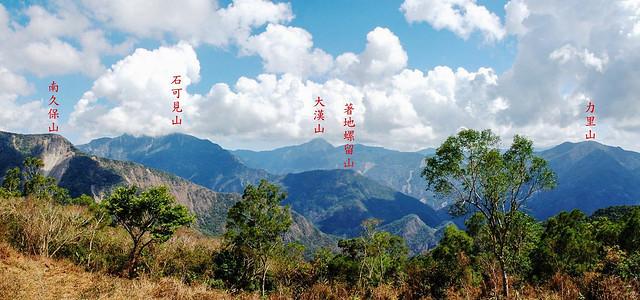 白鷺部落眺望東南群山 1