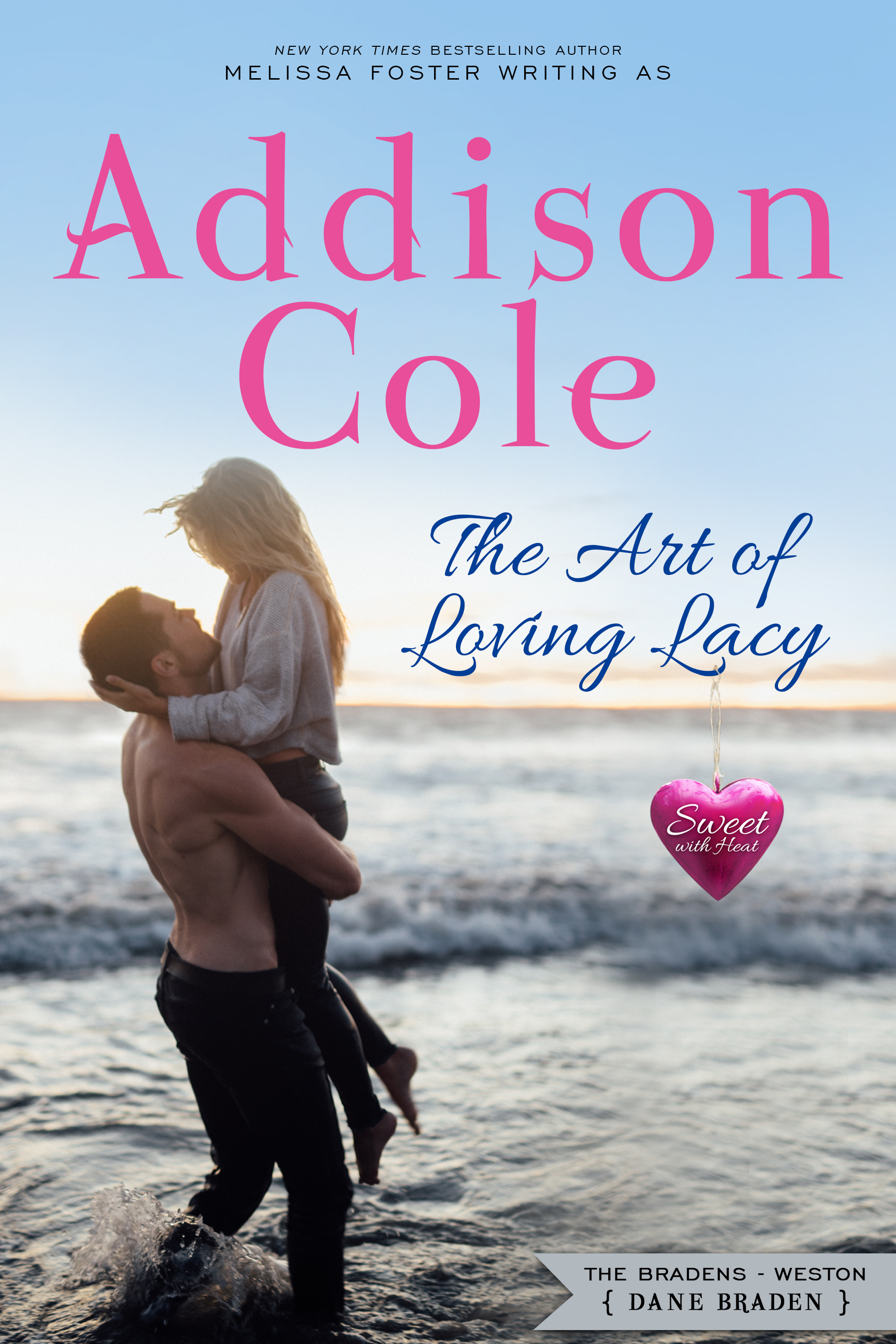 The Art of Loving Lacy by Addison Cole Book