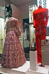 Gowns of Dionne Warwick and Whitney Houston - National Museum of African American History and Culture, Washington DC