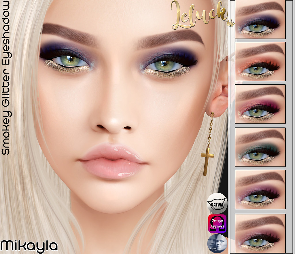 [LeLuck]Smokey Glitter Eyeshadow Mikayla - TeleportHub.com Live!