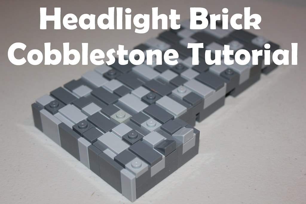 Headlight Brick Cobblestone Tutorial