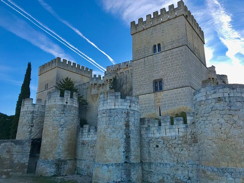Ampudia Castle, Northern Spain