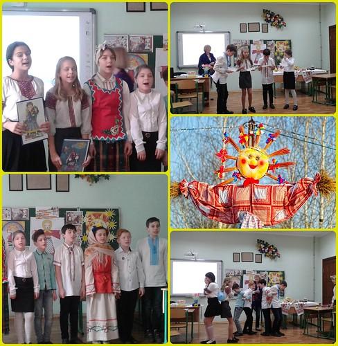 Свято Масляна в 5 класі