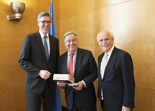 Secretary-General Receives Charlemagne Prize of Aachen | by United Nations Photo
