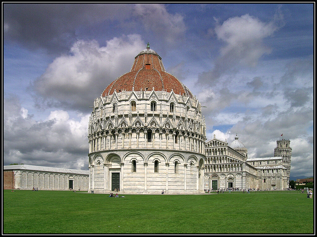 The Leaning Tower. Pisa Italy
