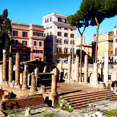 Largo argentina: area archeologica