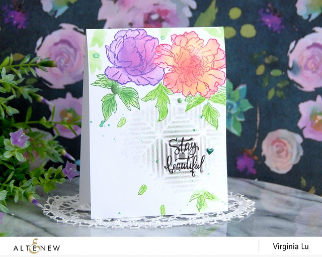 Altenew-BeautifulPeonyStampStencil-Virginia#2
