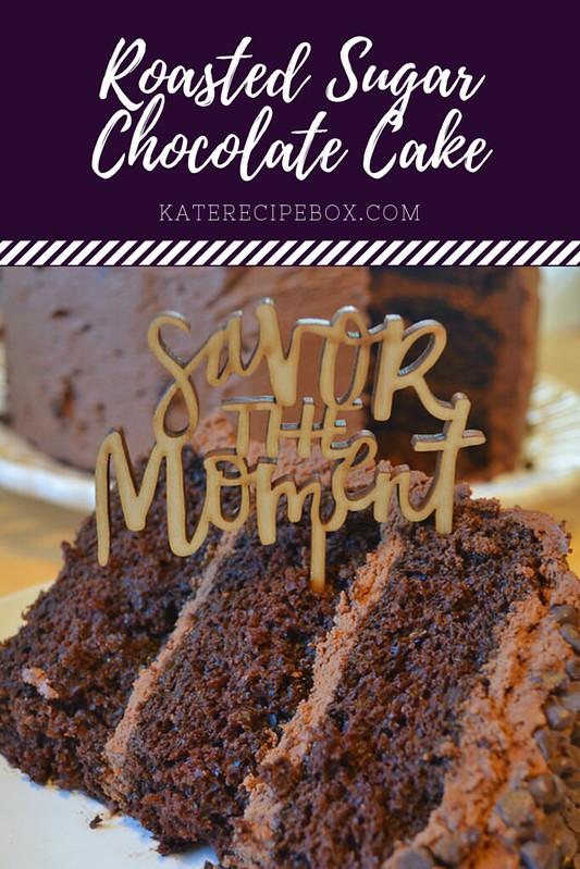 Roasted Sugar Chocolate Cake