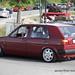 Red VW Golf Mk2