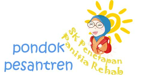 SK Panitia Rehabilitasi Asrama Pondok Pesantren