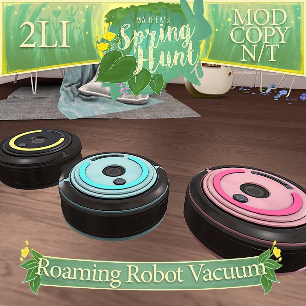 MadPea Spring Hunt - Roaming Robot Vacuum! - TeleportHub.com Live!