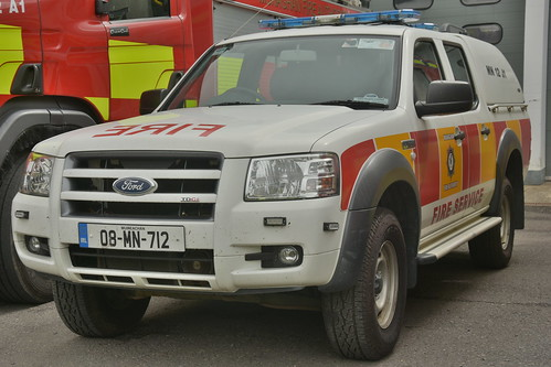 Monaghan Fire Authority 2008 Ford Ranger MFRS L4V 08MN712