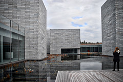 The Pavilions Pond -- The Glenstone Museum February 2019