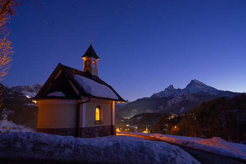 Chapel Lockstein at Night from Toni Hoffmann