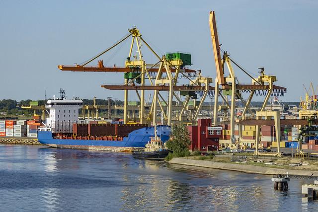 Baltic Container terminal, Riga, Latvia