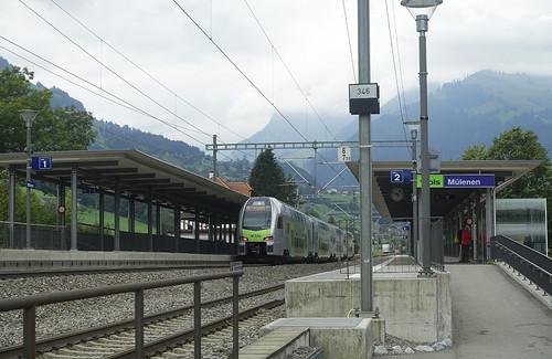 RD18118.  BLS 'KISS' unit at Mülenen.