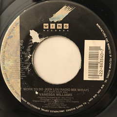 VANESSA WILLIAMS:WORK TO DO(LABEL SIDE-B)