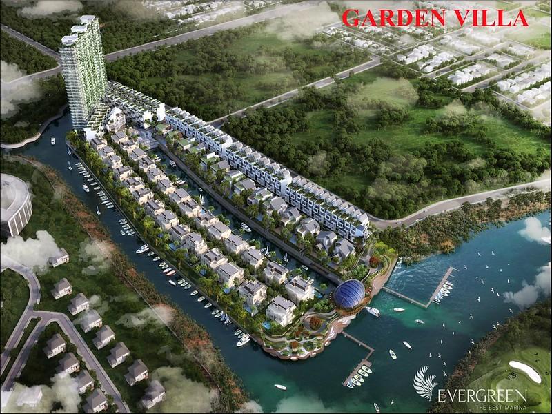 Khu garden Villa