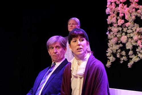 Gunnar Stafstedt, Jenny Helsing, i bakgrunden Lotta Bäck-Vogel