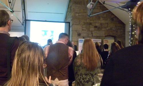 Alan Windram at Scottish Book Trust Awards