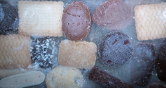 Biscuits caught in the ice