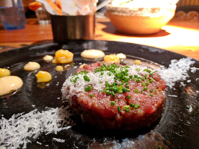 steak tartare @ Seis Tapas Bar
