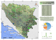 Protected areas Republic of Srpska (BiH)