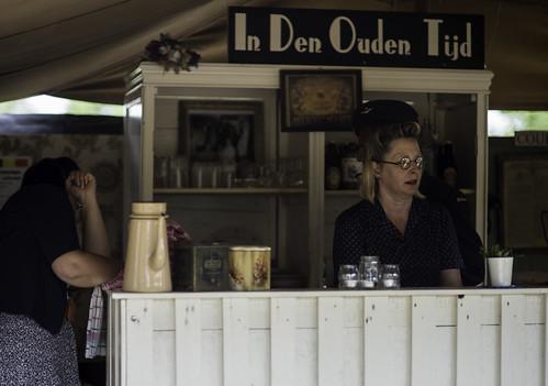 Café in den ouden tijd