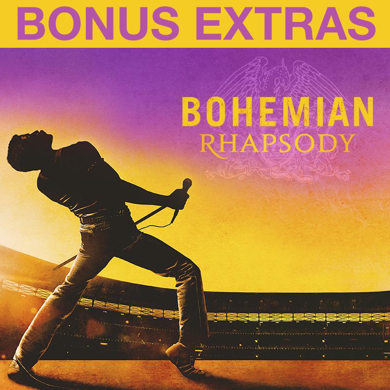 Bohemian Rhapsody (Plus Bonus Features)
