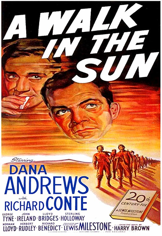 A Walk in the Sun - Poster 1
