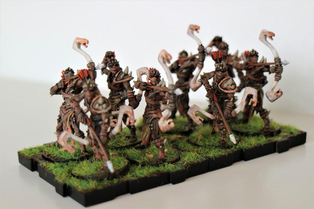 Runewars Miniatures Viper Legion Front