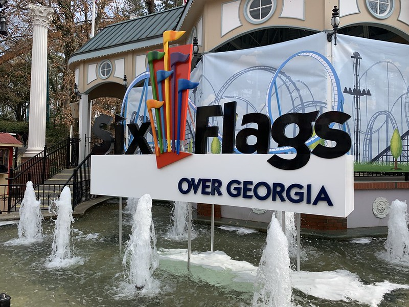 Six Flags over Georgia 2019