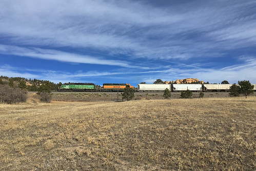 bnsf bnsf1933 emd sd402 palmerlake colorado jointline pikespeaklocal palmerdivide train railroad