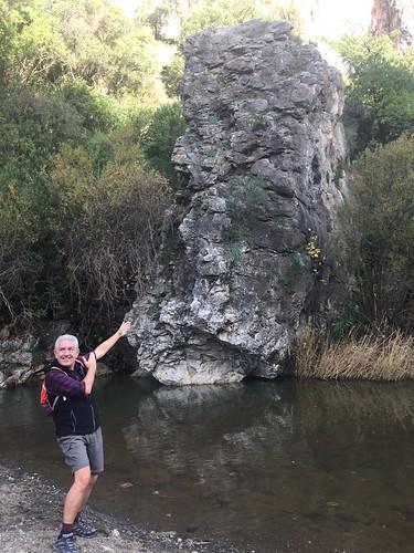 My abseil rock