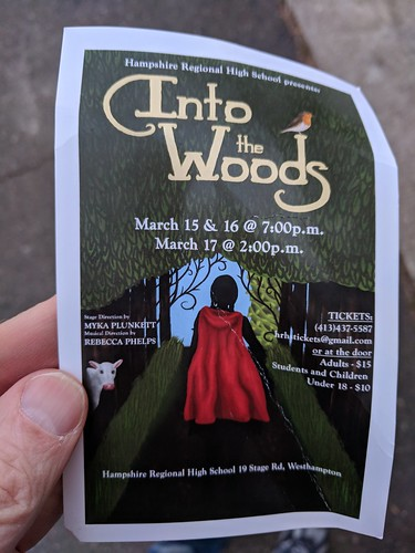 Into the Woods at HRHS