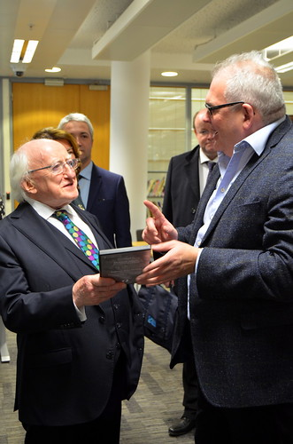Irish President MD Higgins visit to Liverpool February 12th and 13th 2019 Gerry Molumby (78) | by triskellion_uk