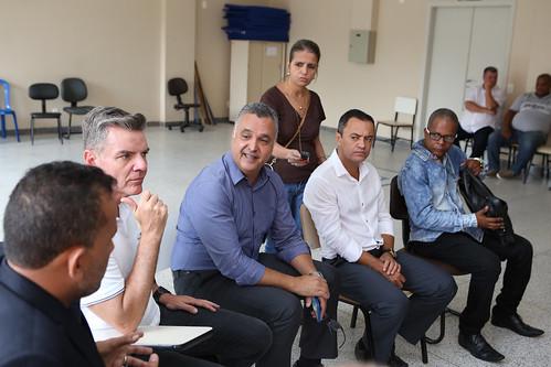 Visita técnica para verificar as condições de atendimento do Centro de Saúde Barreiro de Cima - Comissão de Saúde e Saneamento