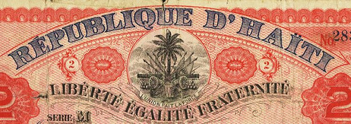 Republique d'Haiti banner