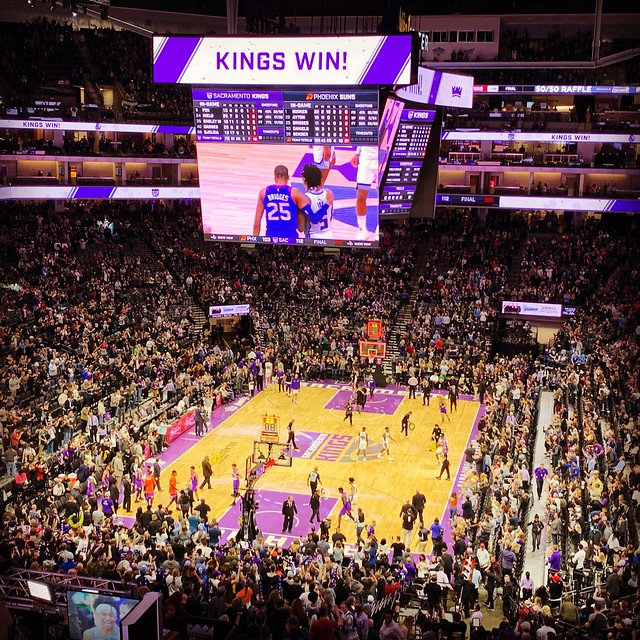 2019 Kings versus Suns