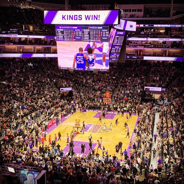 2019 Kings versus Suns