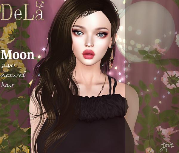 "=DeLa*= new hair ""Moon"""
