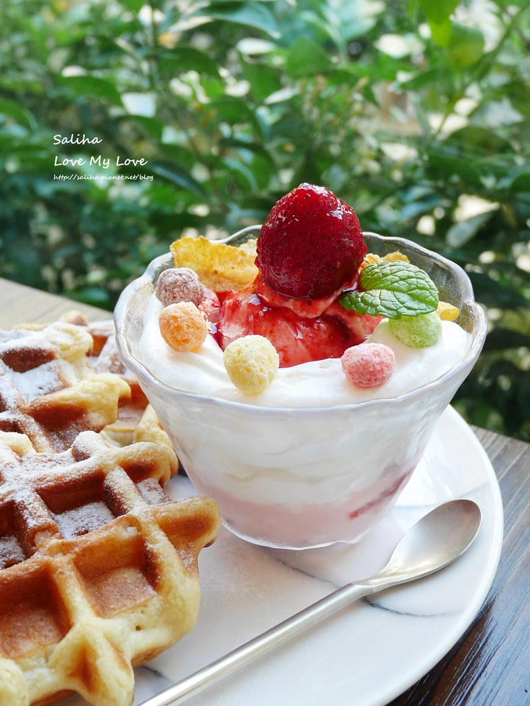 台北中山站咖啡廳下午茶推薦一直是晴天浮誇系夢幻飲料甜點鬆餅咖啡 (6)