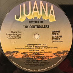 THE CONTROLLERS:NEXT IN LINE(LABEL SIDE-B)