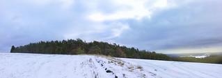 Železné hory v zimě
