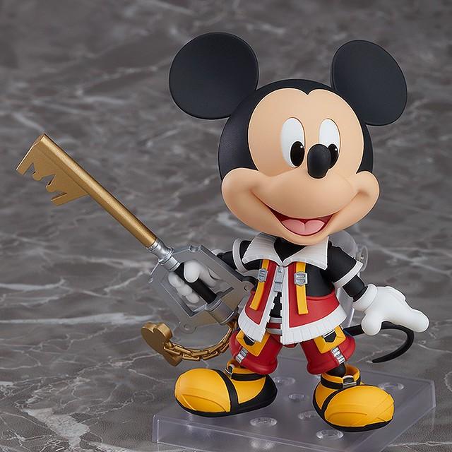 眾所期盼的國王陛下 !黏土人系列《王國之心2》「國王米奇」活躍登場!ねんどろいど キングミッキー