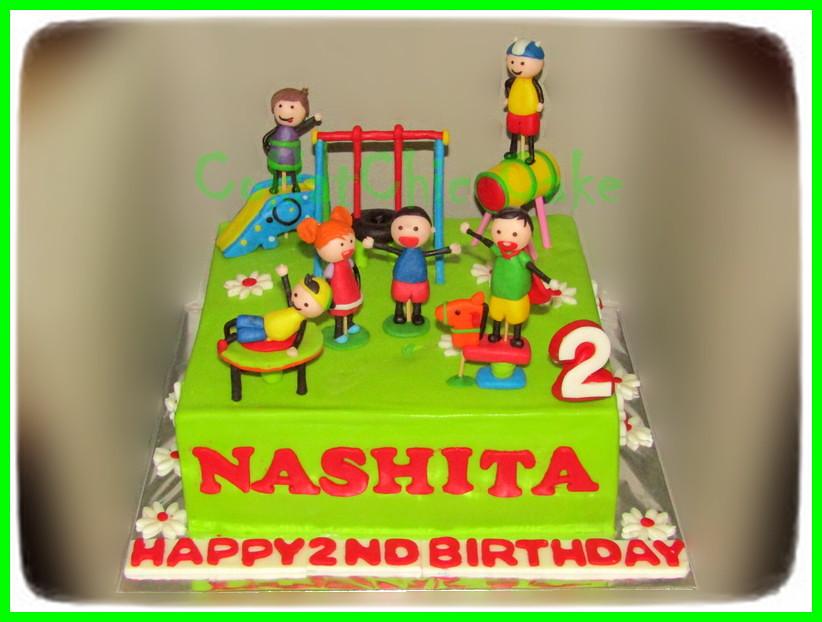 Cake Playground NASHITA 20 cm