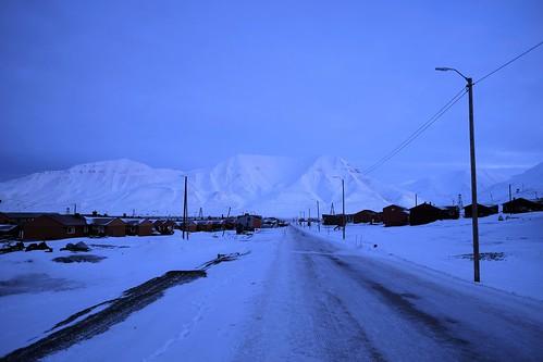 Arctic morning light
